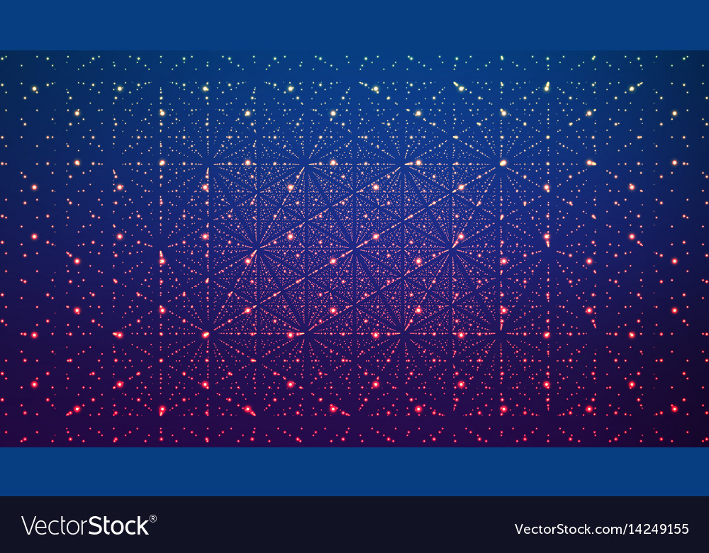 Abstract background matrix of