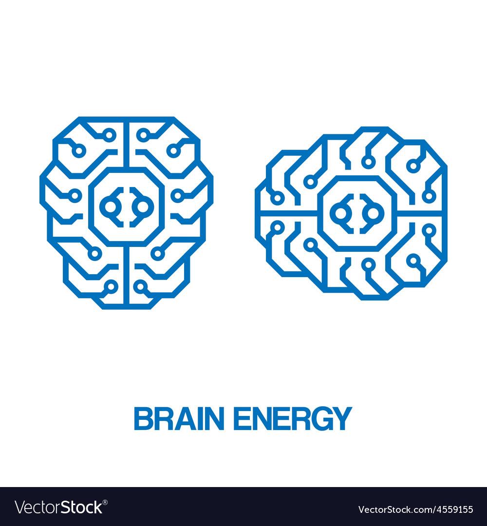 Brain energy sign