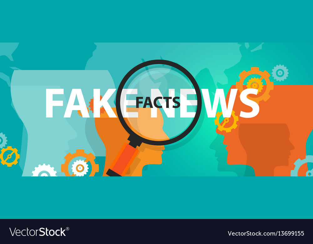 Fake news or facts alternative find truth press