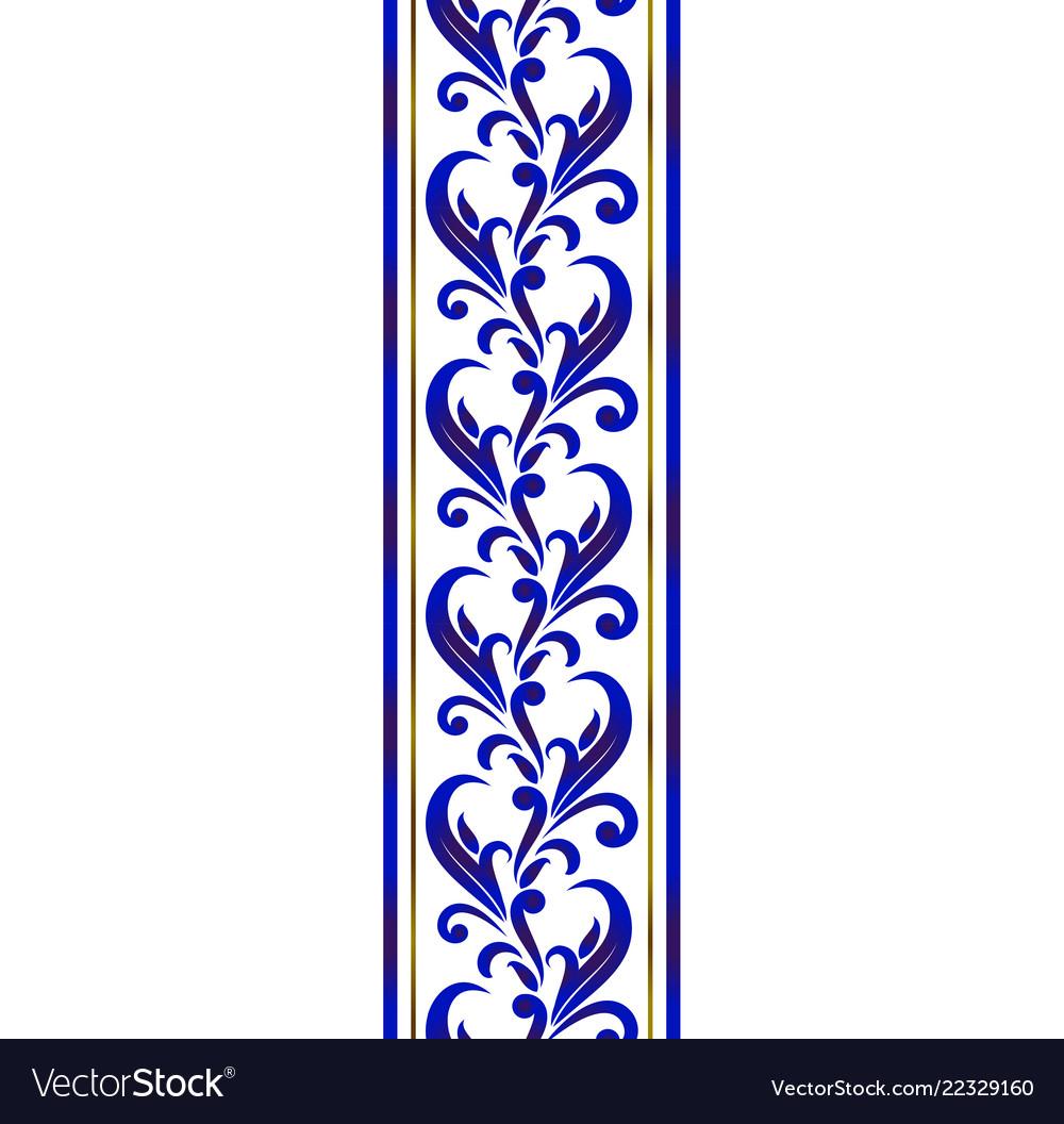 Ceramic decorative line