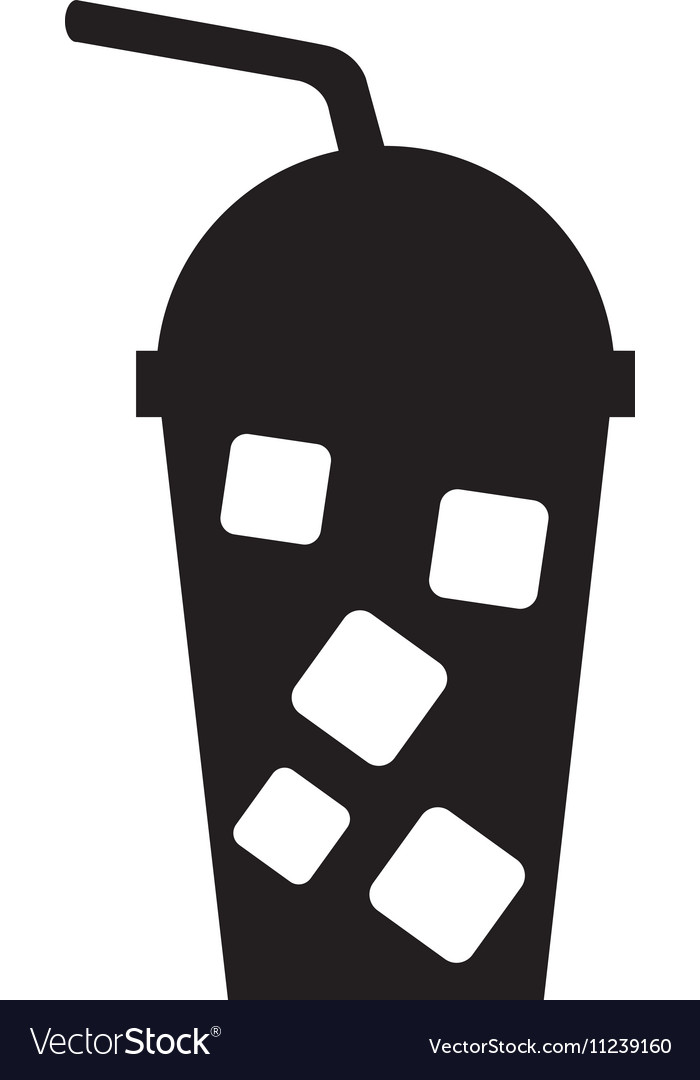 Milkshake drink isolated icon