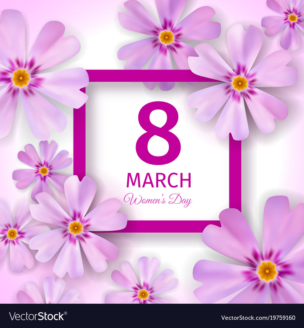 Womens day greeting card royalty free vector image womens day greeting card vector image m4hsunfo