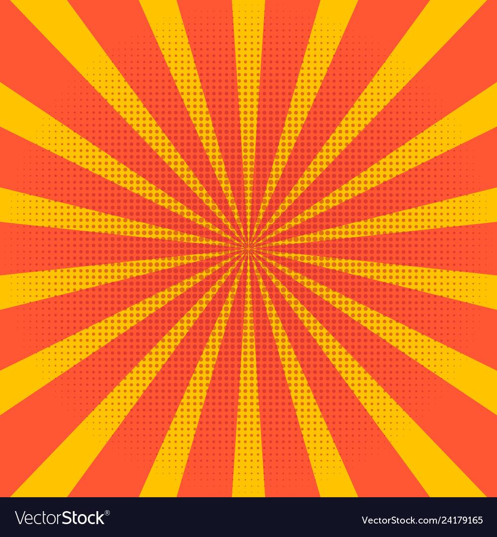 Abstract light yellow sun rays background