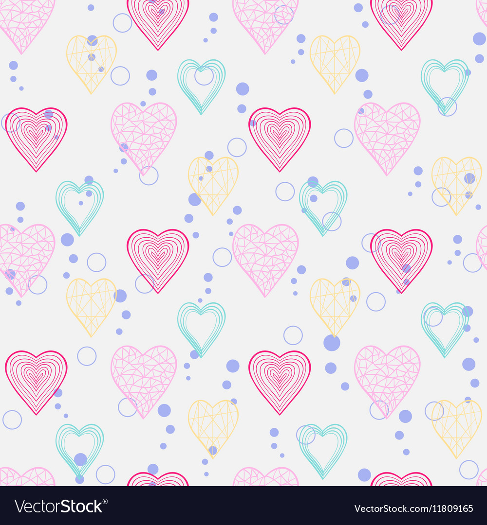Heart pattern seamless