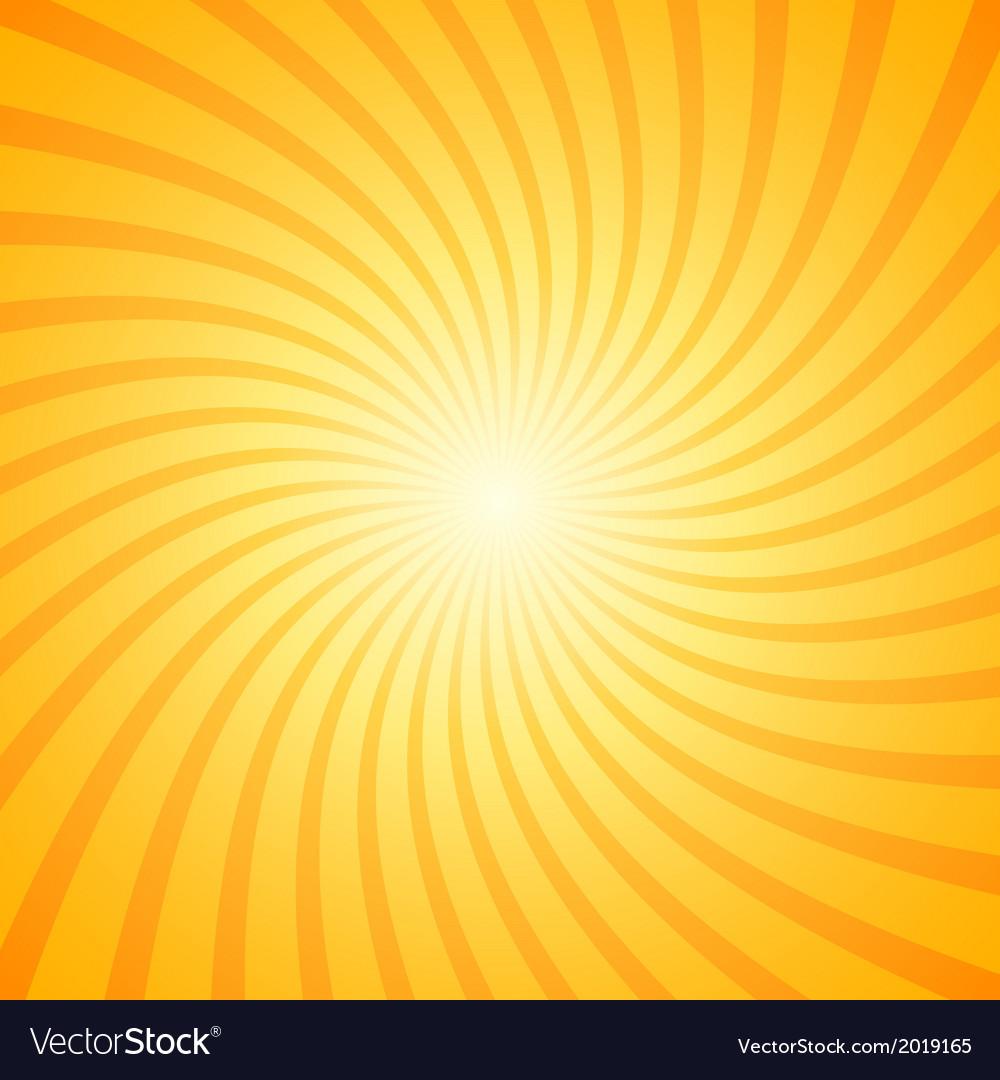 orange color burst background royalty free vector image