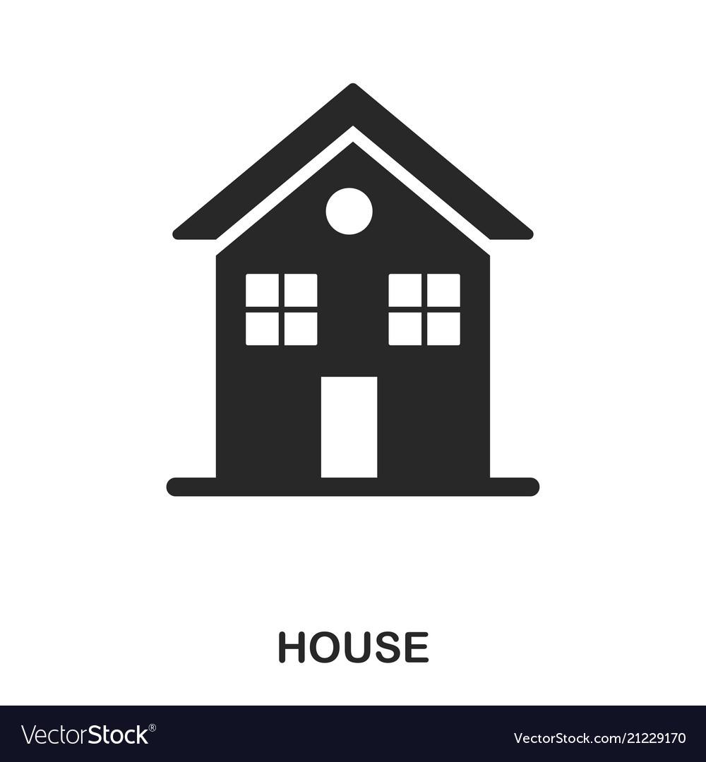 House icon line style icon design ui