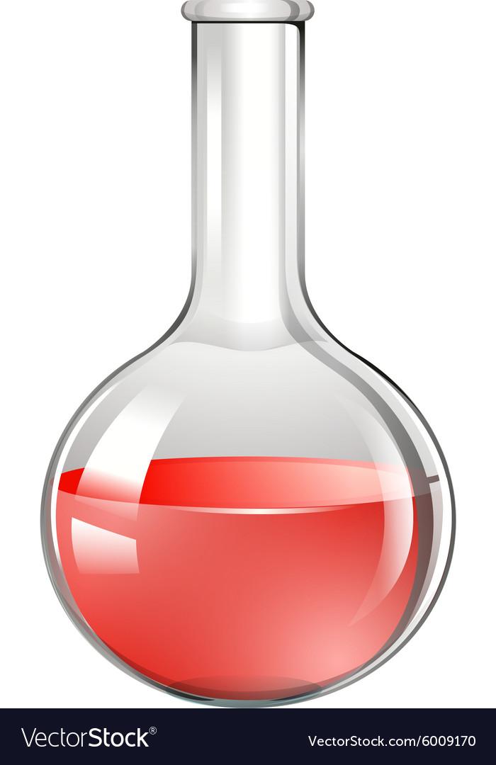 red substance in glass beaker royalty free vector image rh vectorstock com barker victor 419527 barker victor