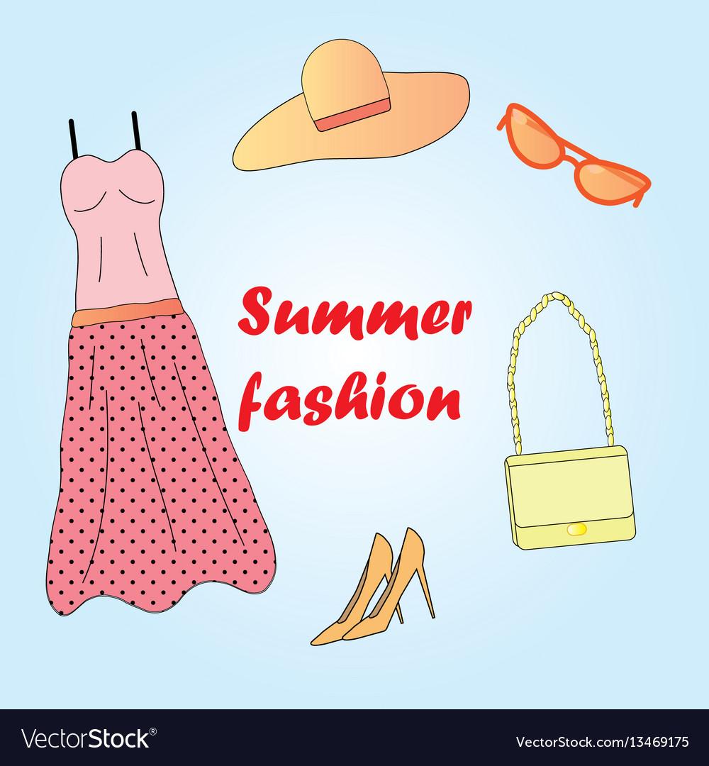 Clothes set summer fashion