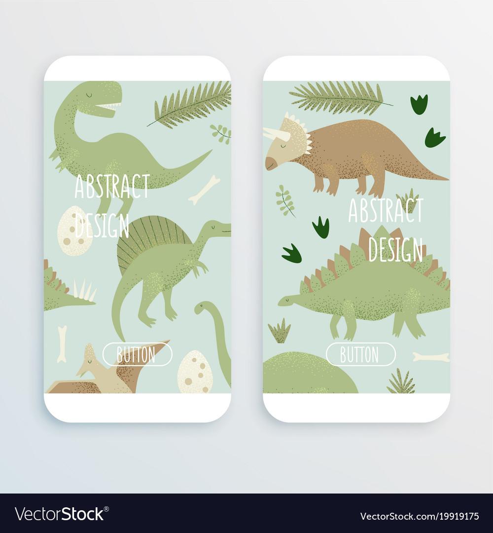 Dinosaurs design tyrannosaurus rex