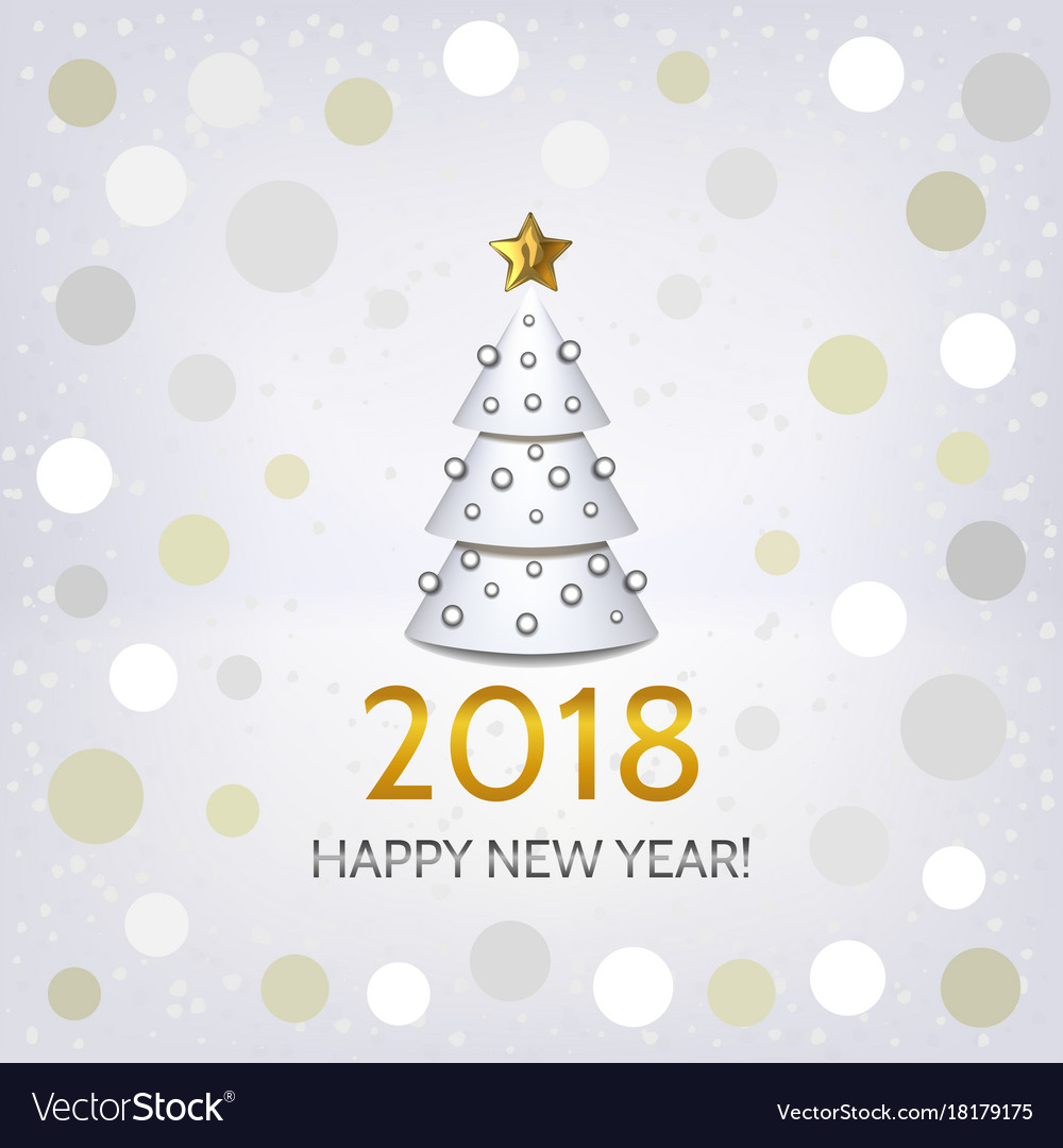 Christmas tree elegant. New year background with
