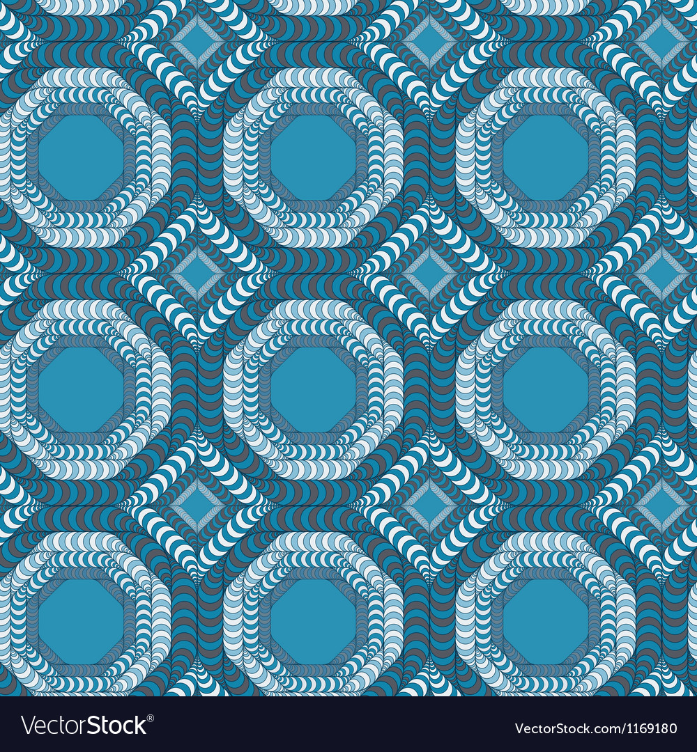 Abstract seamless pattern with a trellis structure