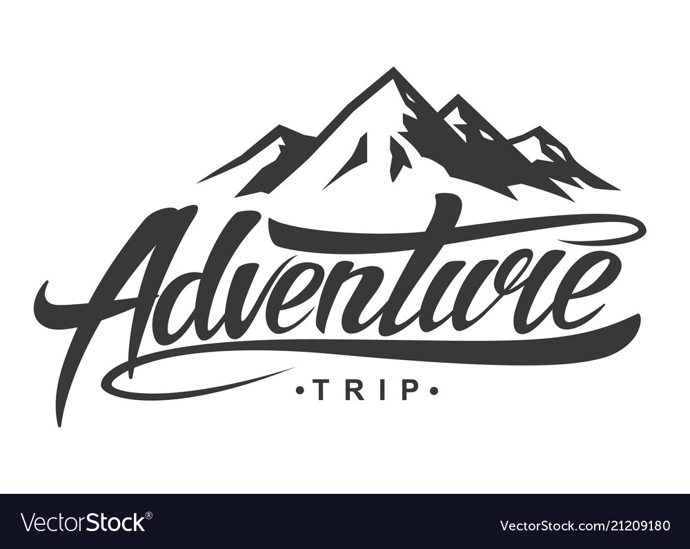 Adventure Vintage Logo Royalty Free Vector Image