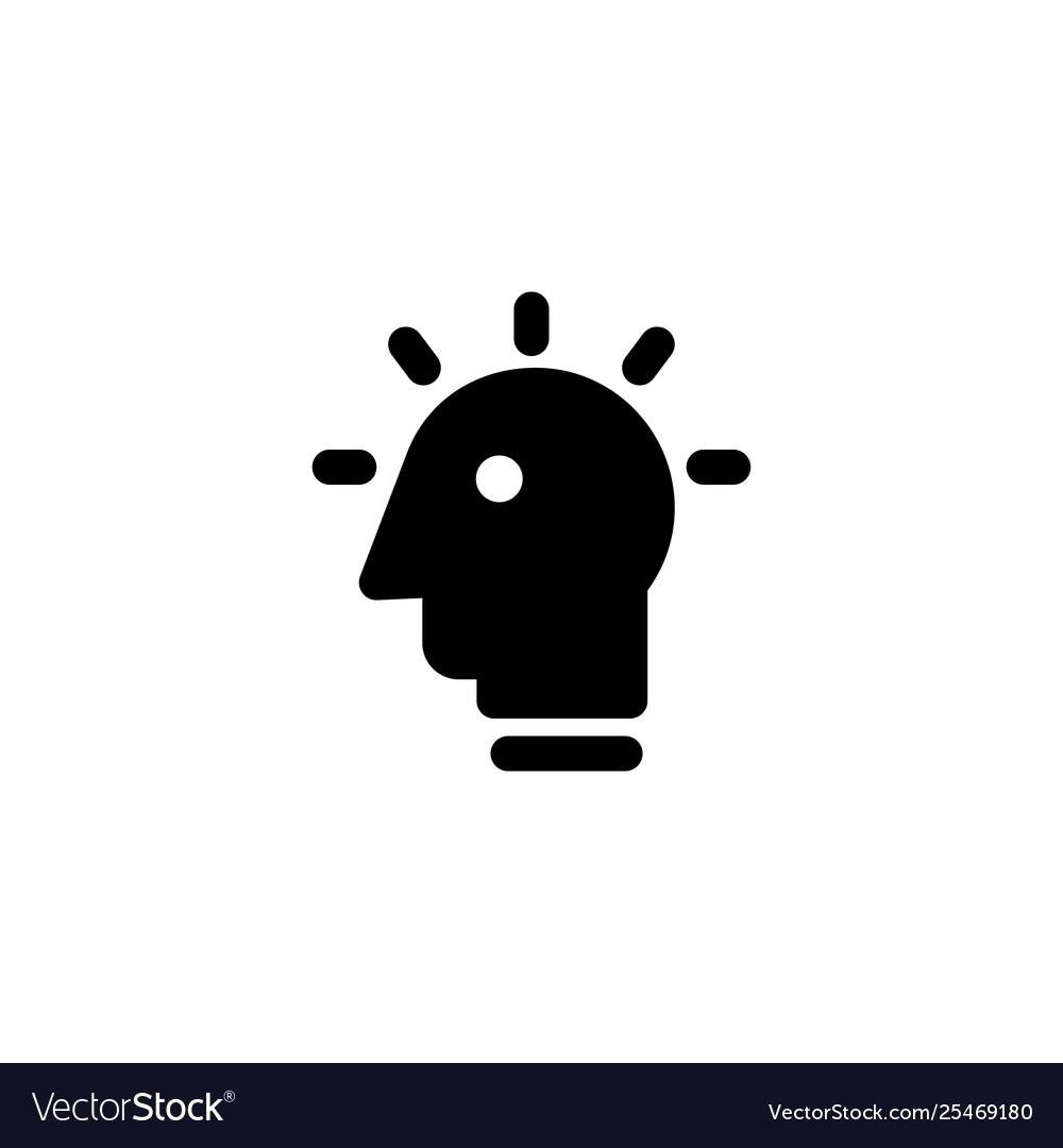 Idea bulb icon