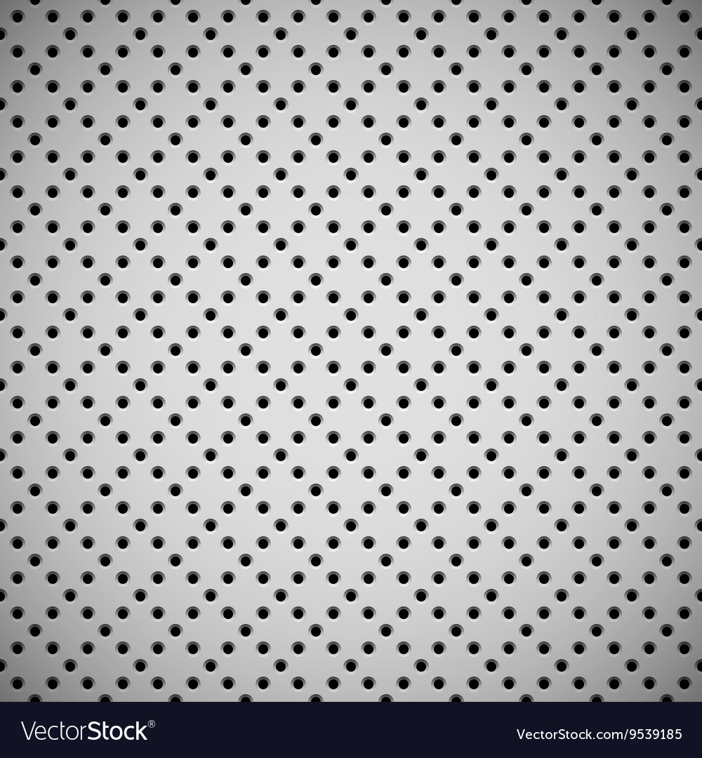 White Background with Perforated Pattern