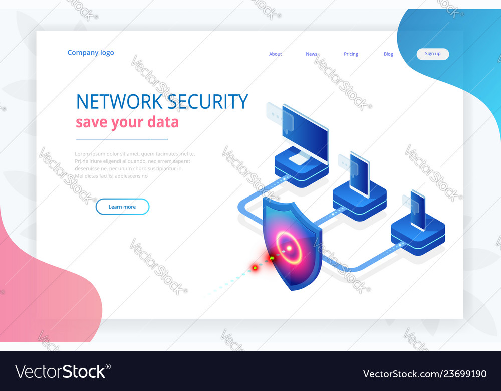 Isometric protection network security and safe