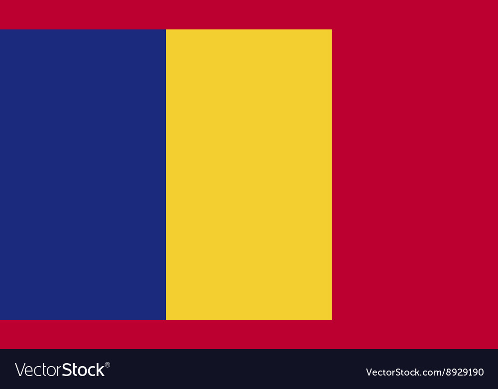 Romania flag image vector image