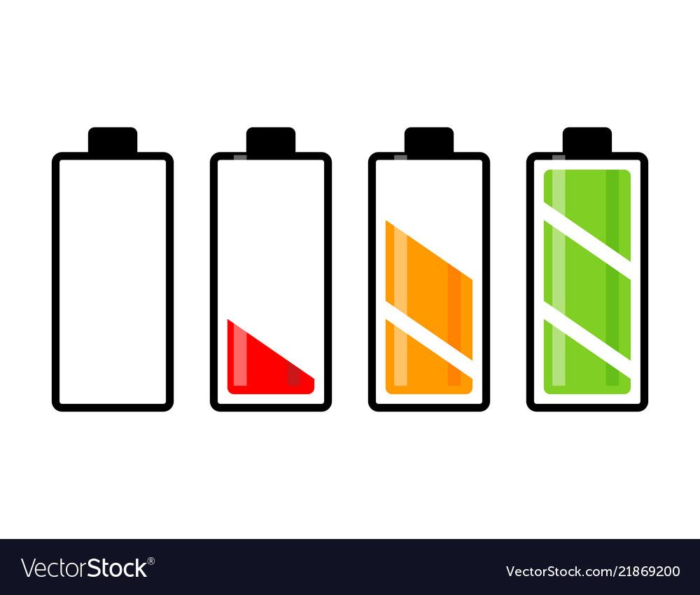 Battery charge level symbol icon design beautiful