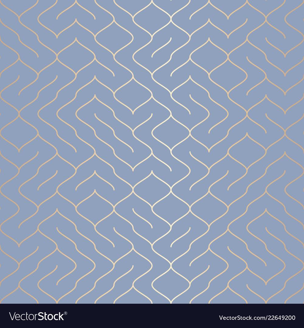 Geometric blue seamless pattern background simple
