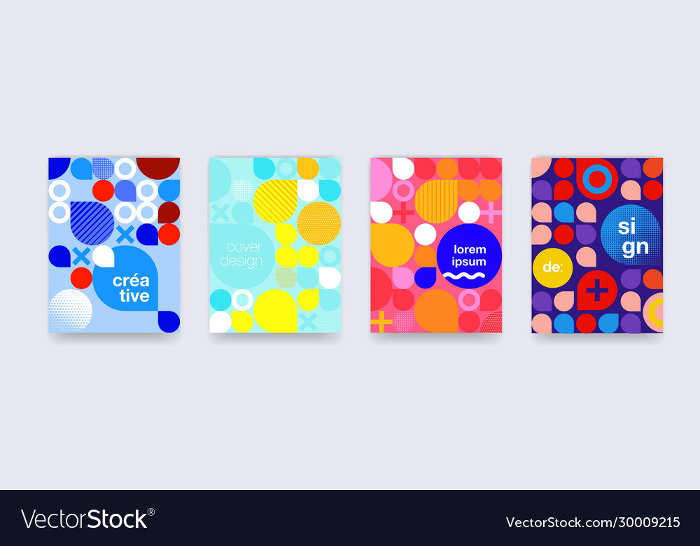 Fun doodle pattern background abstract shapes and