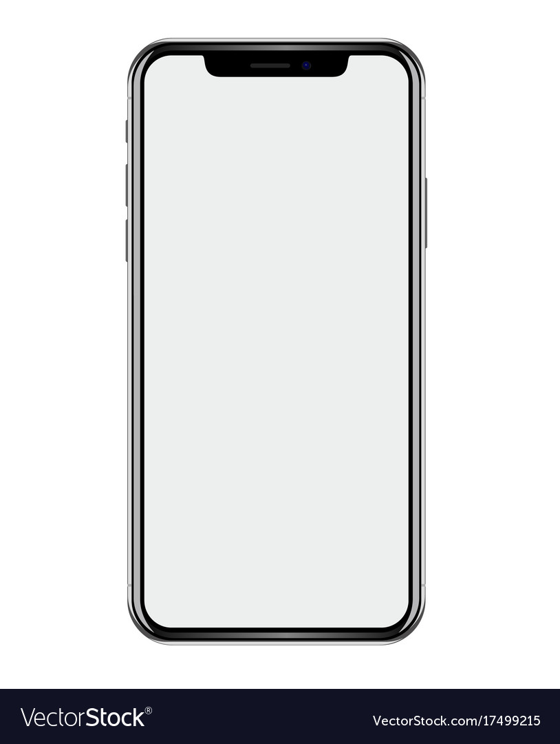 a3b56486a New phone drawing isolated on white background Vector Image