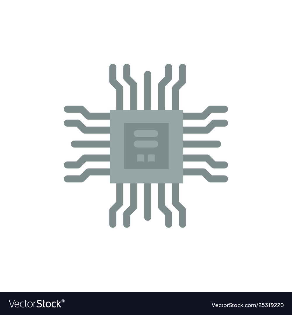 Book cpu learning technology flat color icon icon