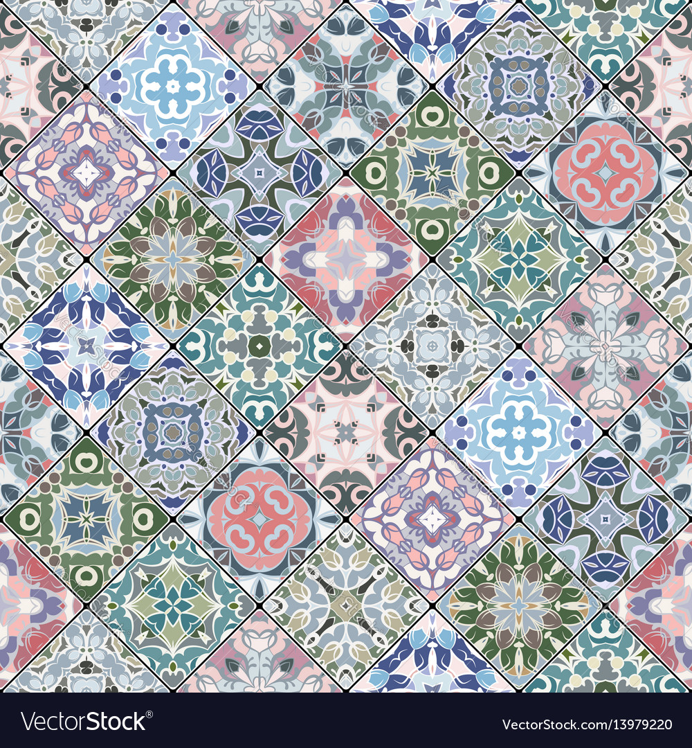 Decorative background in ethnic style