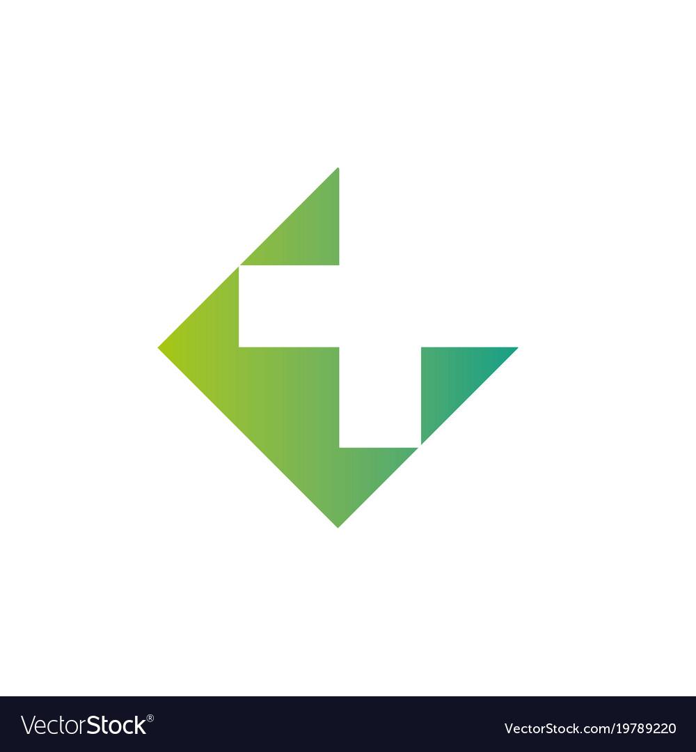 Pharmacy Logo Medicine Green Cross Abstract Vector Image