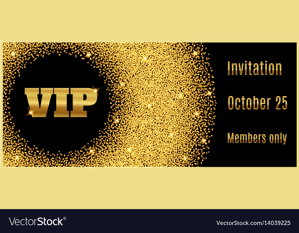 Vip club party premium invitation card poster flye