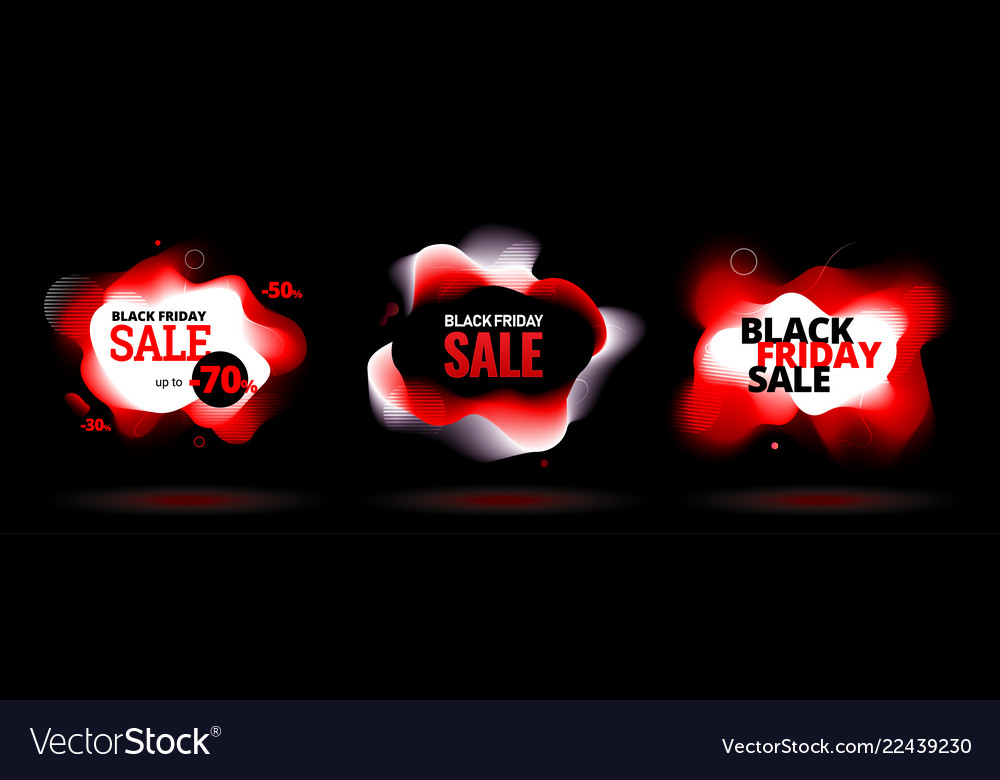 Black friday sale discount banner with organic