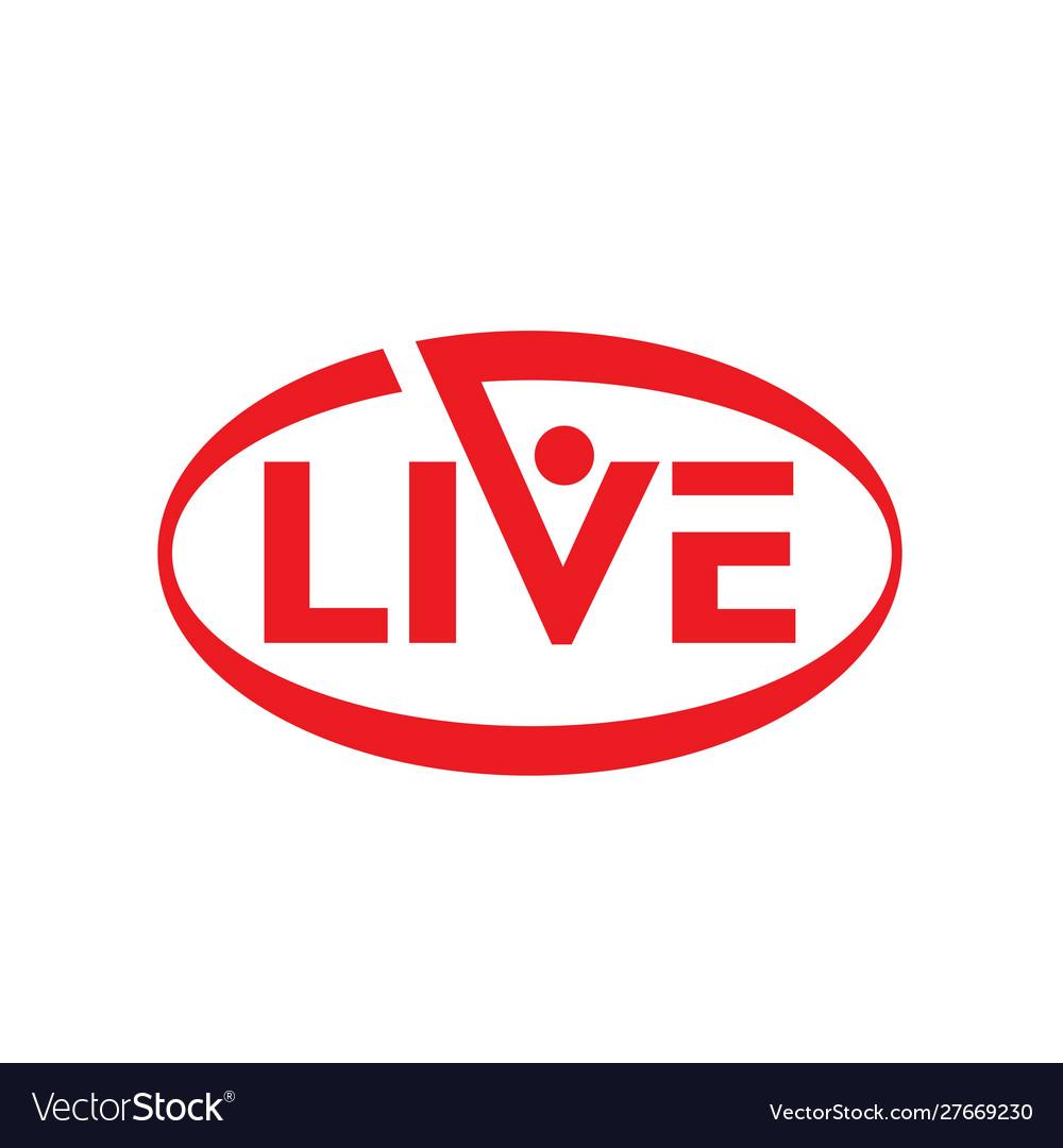 Live stream logo design