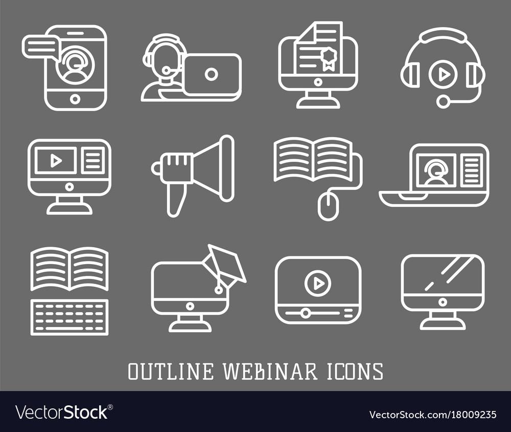 Business webinar and online