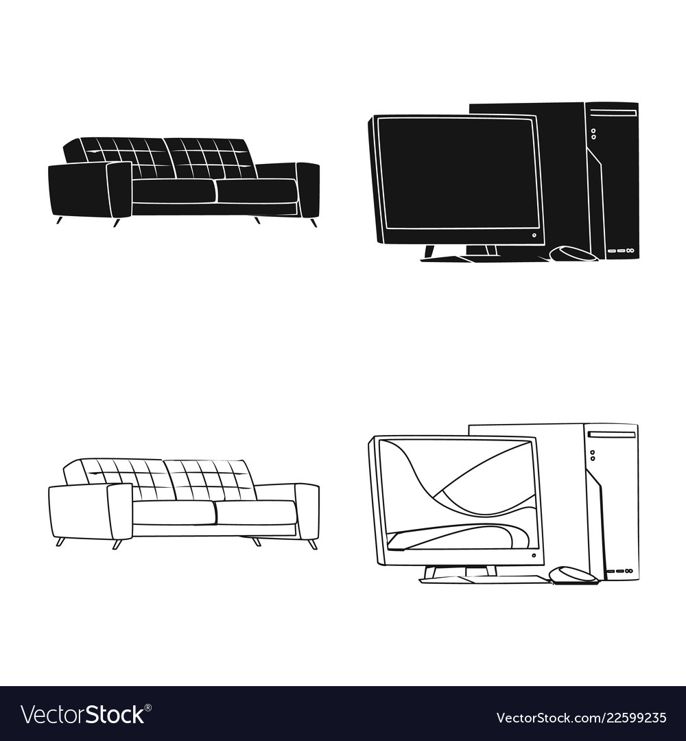 Design of furniture and work sign