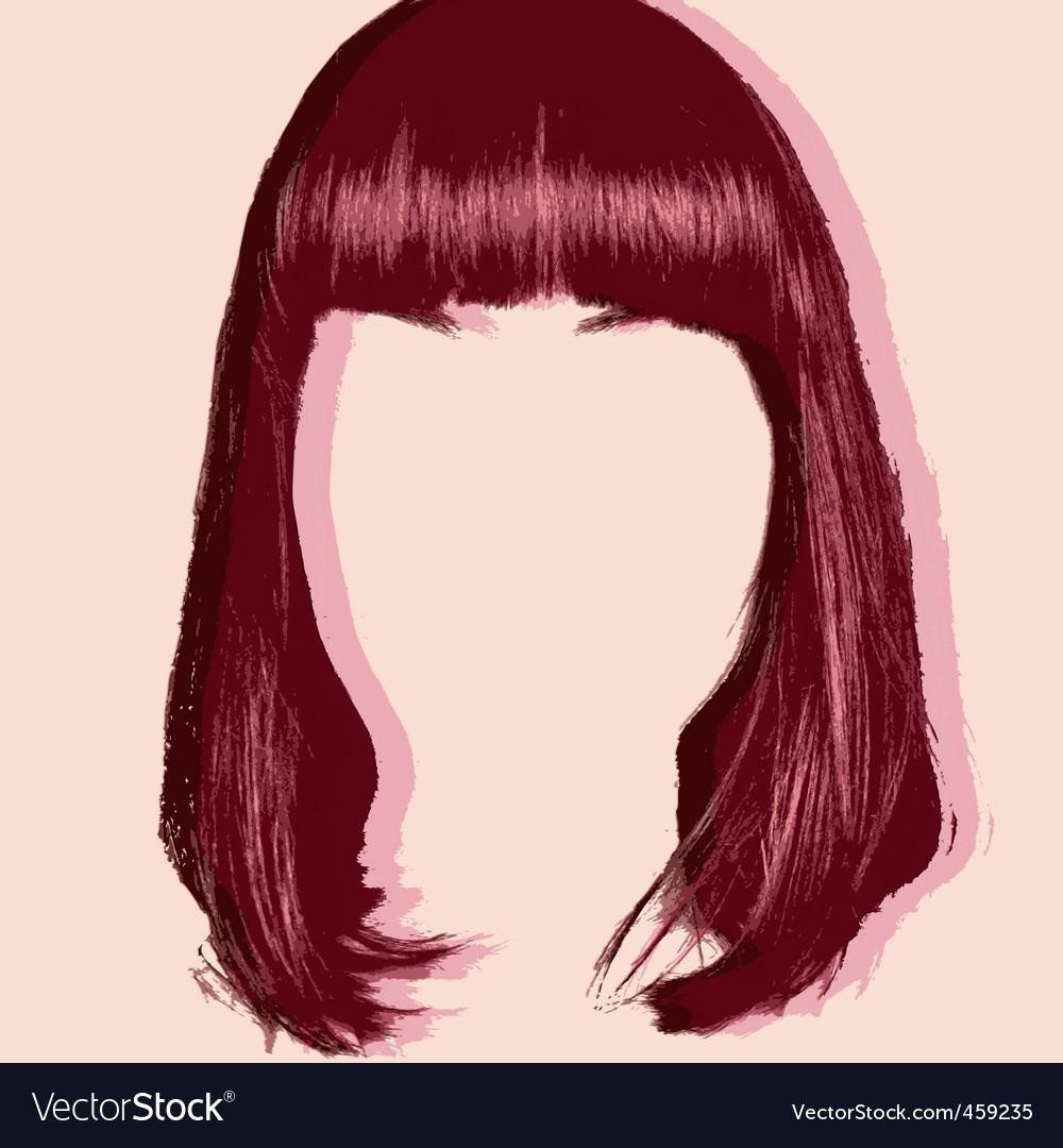 Hair cut pop art style
