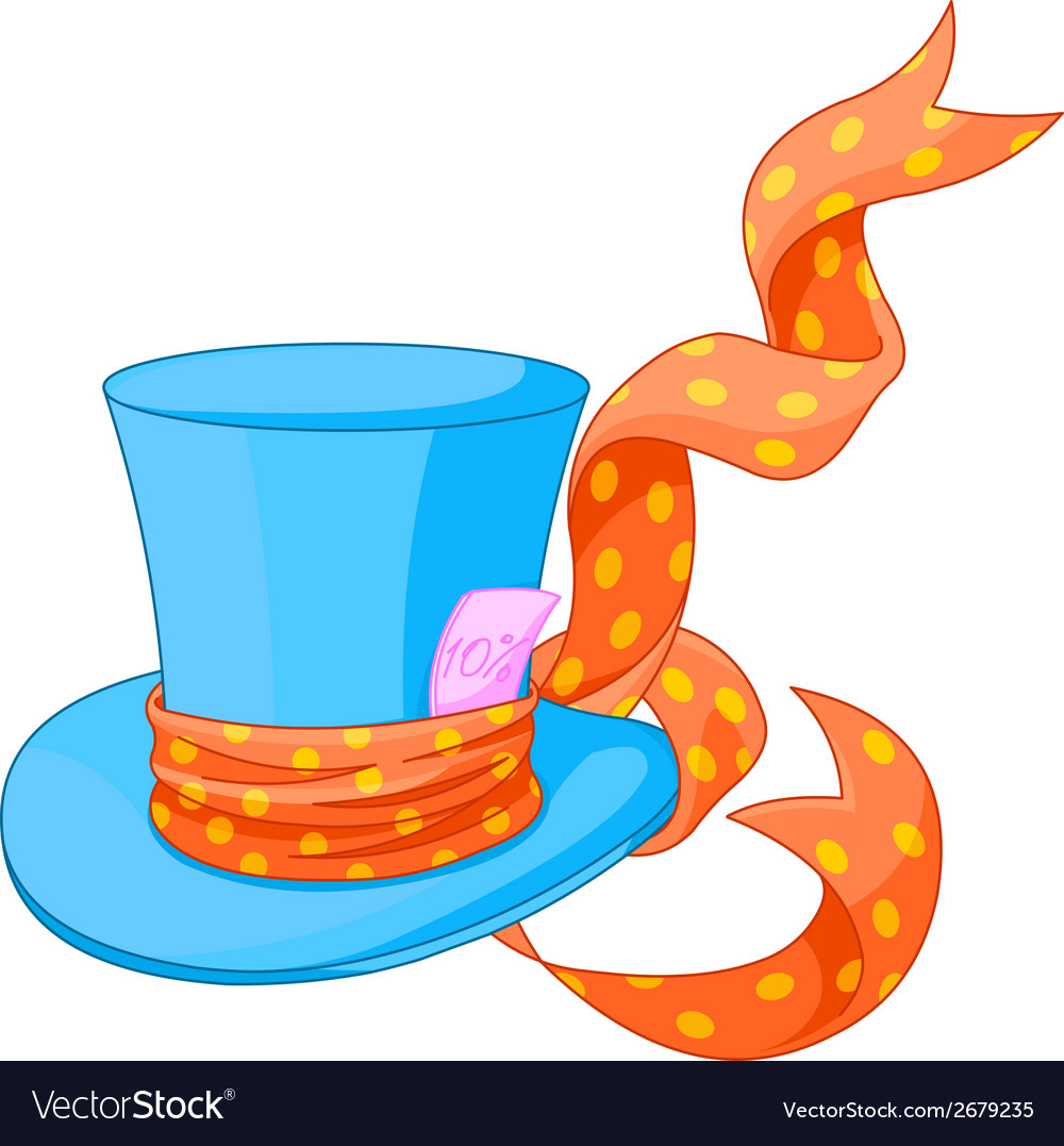 Mad Hatter Hat Vector Images 43