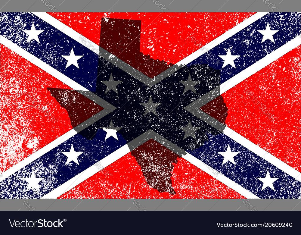 Rebel civil war flag