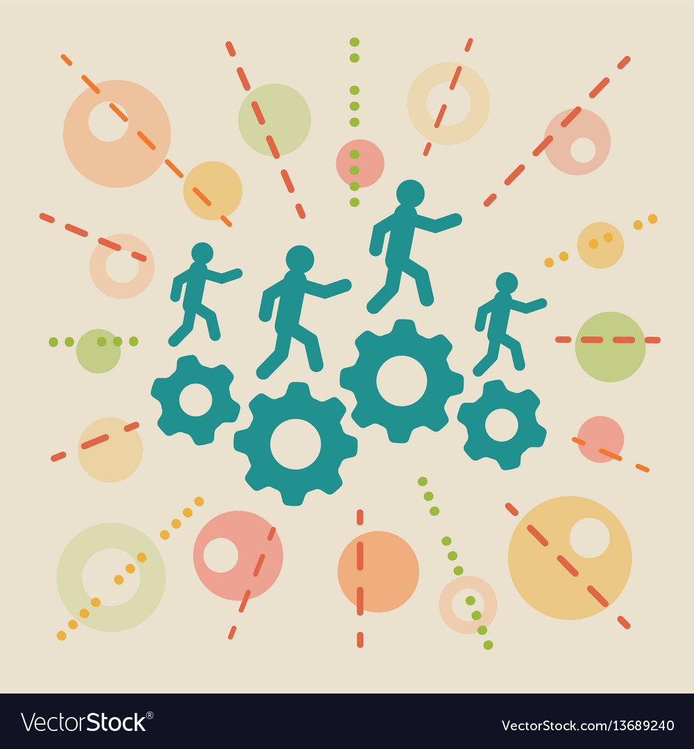 Resources concept business vector image