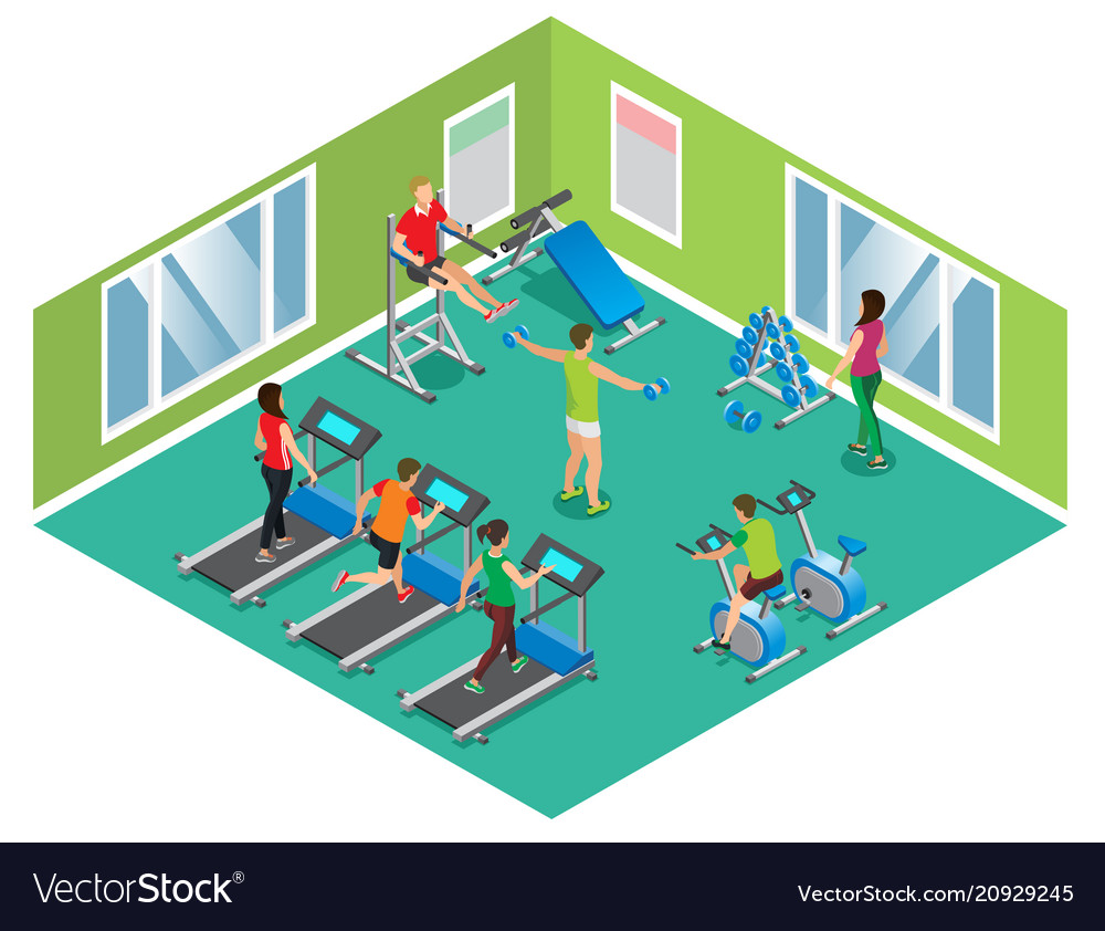 Isometric fitness club concept