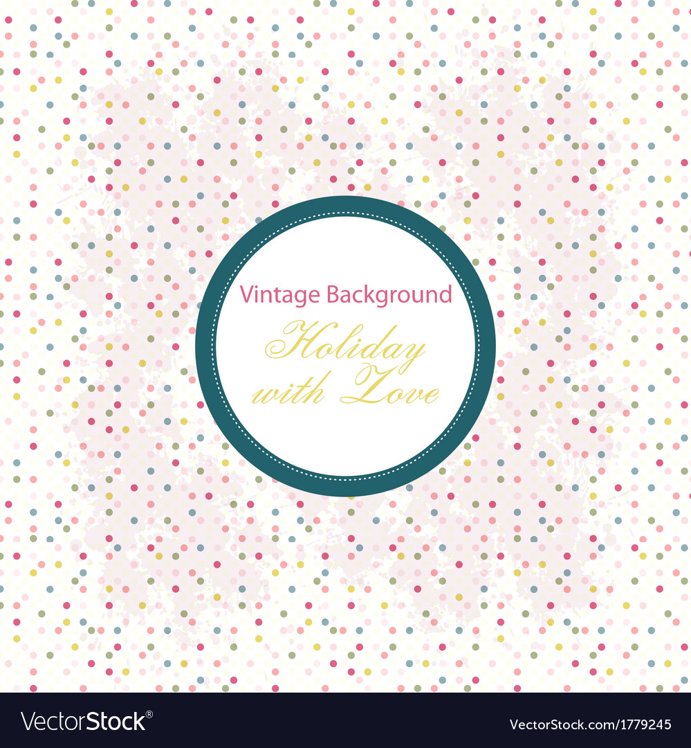 Shabby Chic background with pattern