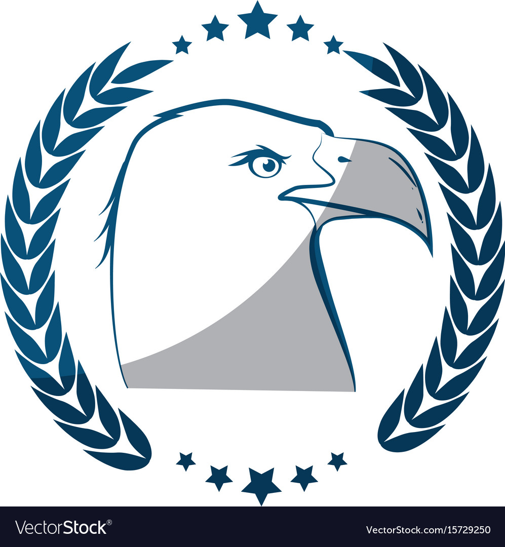 American Eagle Symbol Royalty Free Vector Image