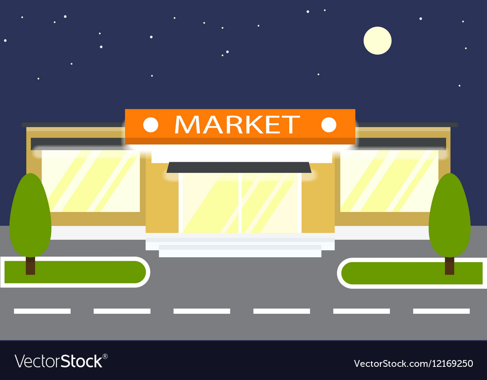 Market in the night Store