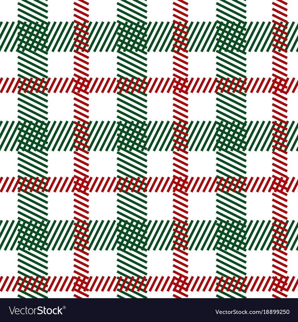 Tartan fabric seamless pattern