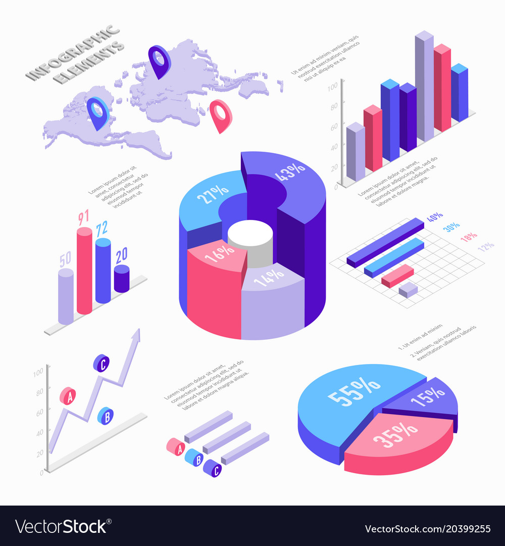 Infographic Chart Vector