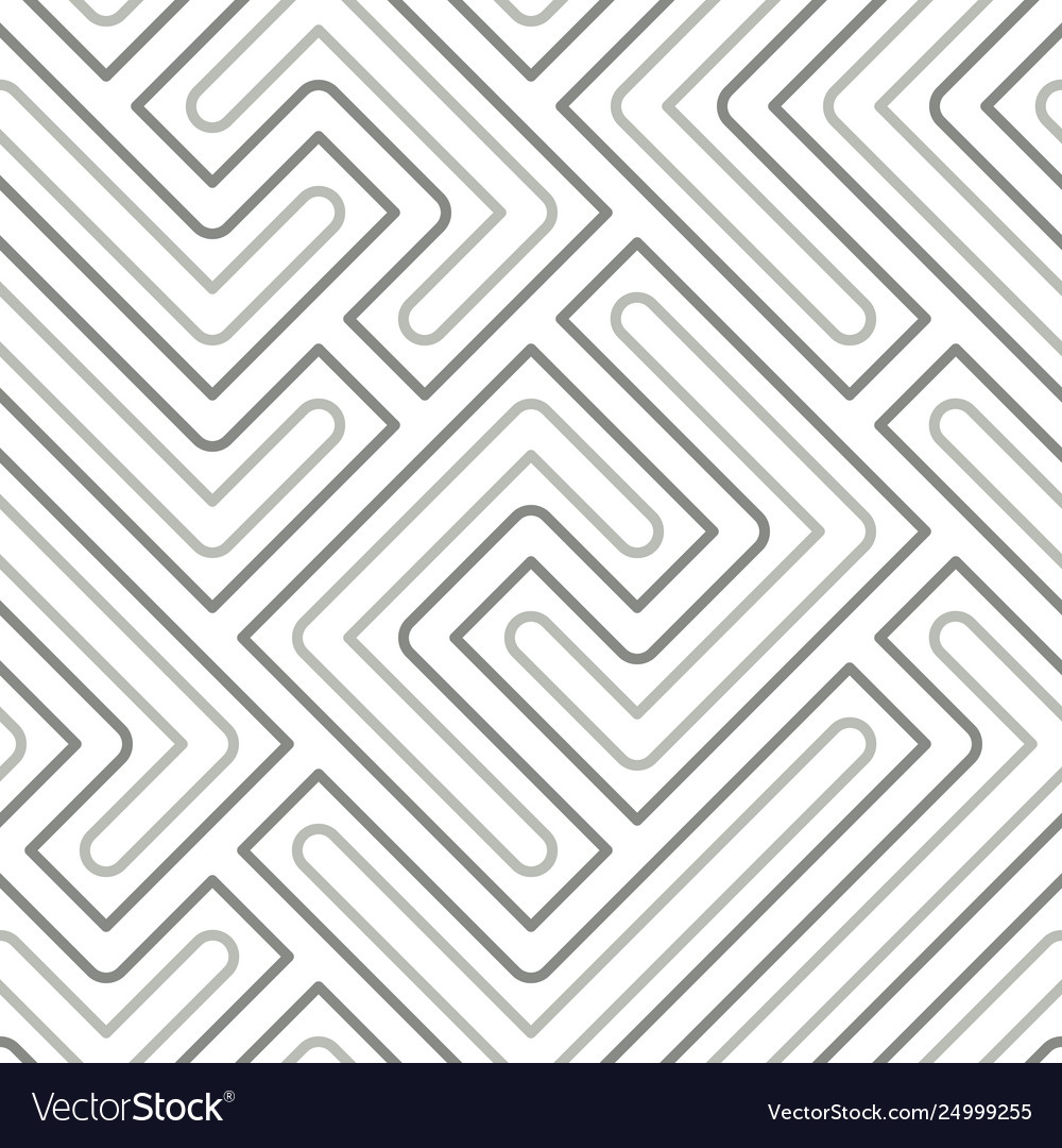 Seamless pattern with geometric lines