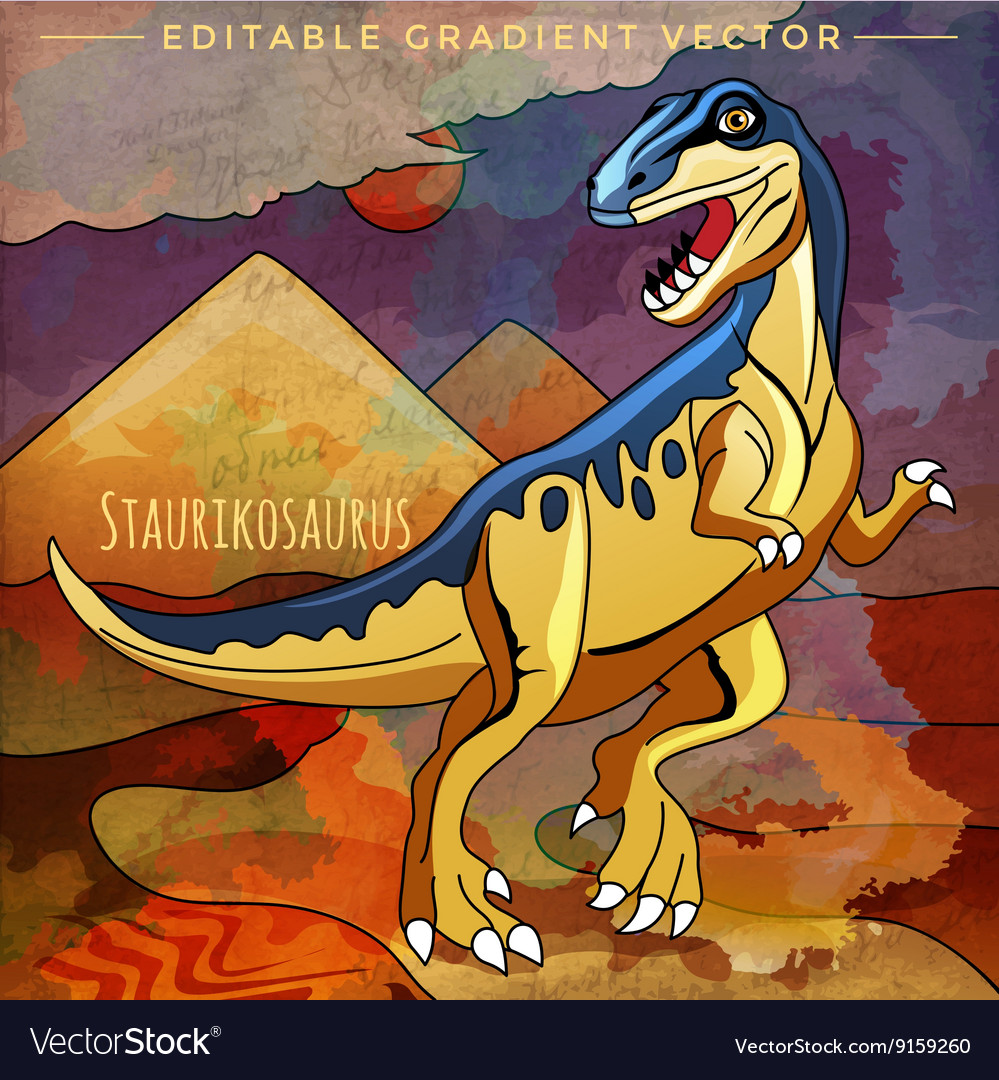 Dinosaur Habitat In Vector Images 52