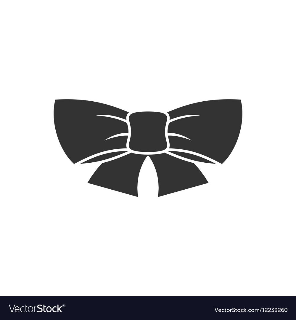 Ribbon bow icon