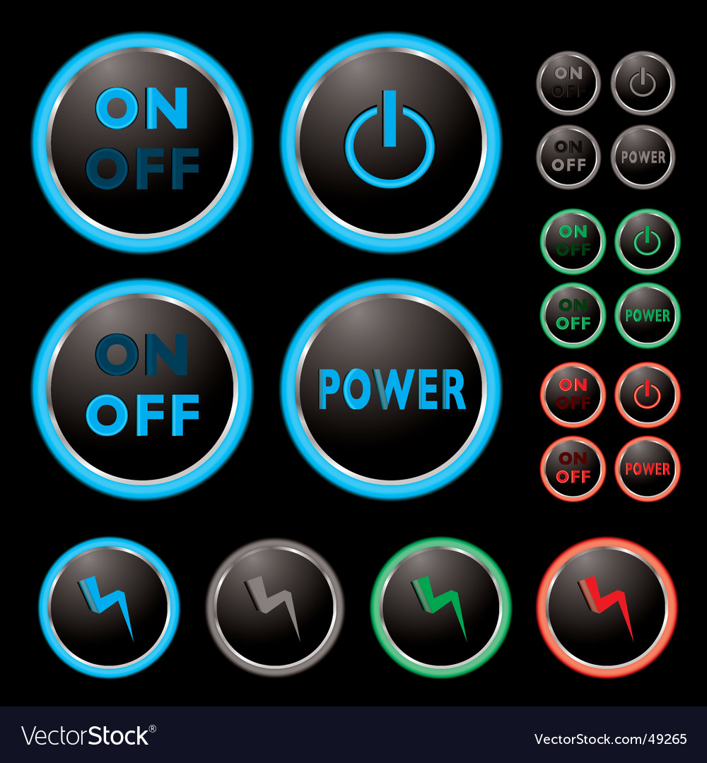 Power buttons