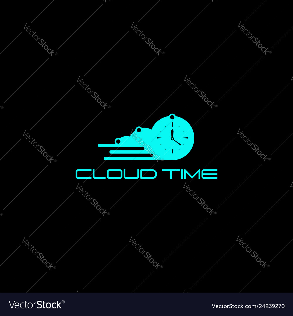 Cloud time logo