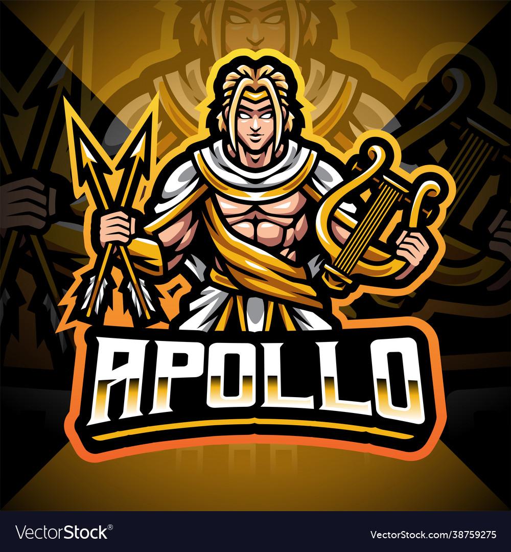 Apollo esport mascot logo design