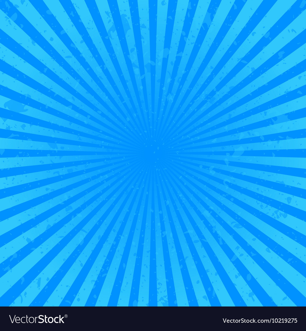 Blue starburst background