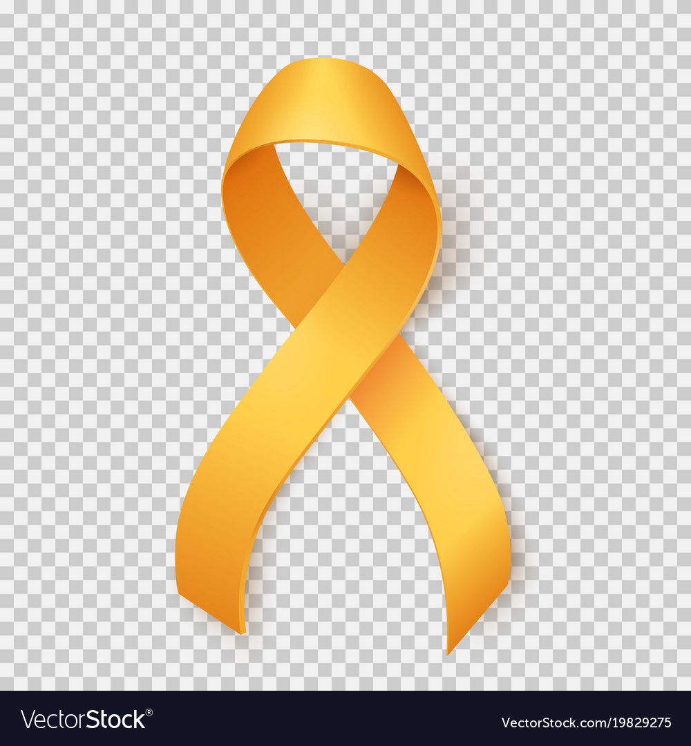 Childhood Cancer Day Royalty Free Vector Image
